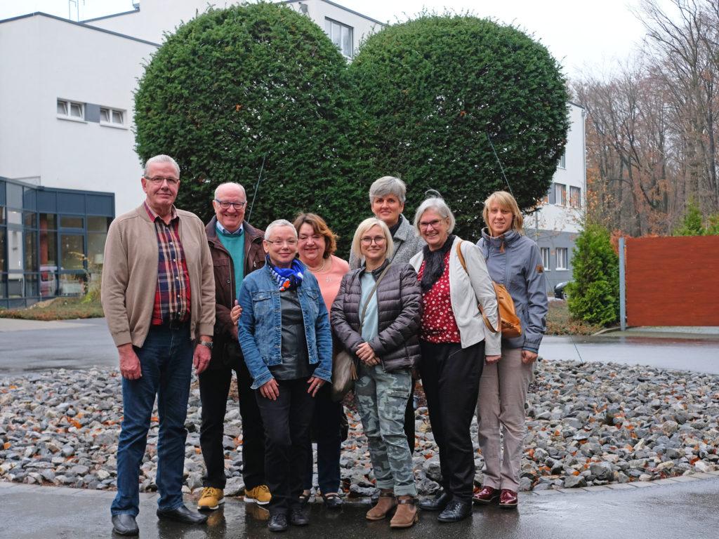 Ehrenamtlicher Betreuungsdienst Herzpark Team